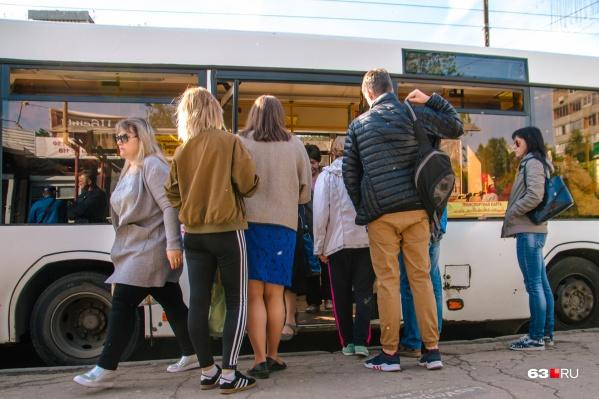 Автобусы будут работать с 07:00 до 15:00