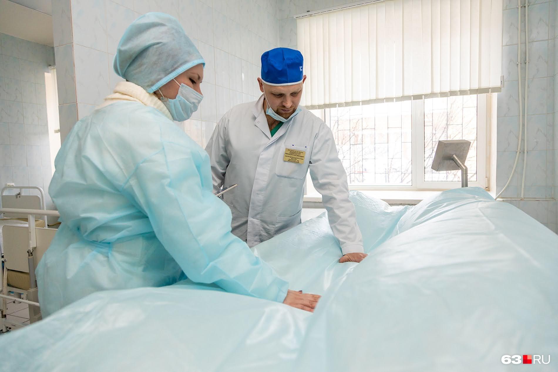 На такой кровати пациент не чувствует давления