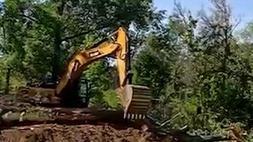 «Затопит десятки домов»: под Волгоградом жители протестуют против строительства плотины на ерике Судомойка