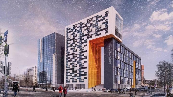Новое здание будет выглядеть абсолютно иначе. Застройщик — о высотке на месте снесенного конструктивистского здания ПРОМЭКТа