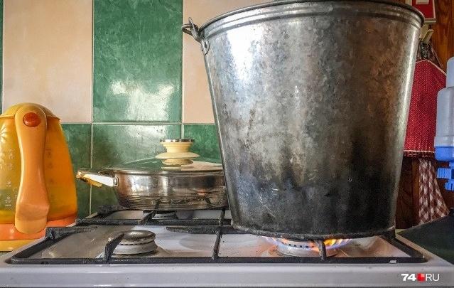 87 домов в Кургане остаются без горячей воды