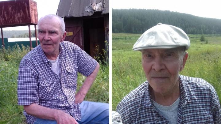 «У него бывают провалы в памяти»: в Екатеринбурге пропал 80-летний дедушка в черной фуражке
