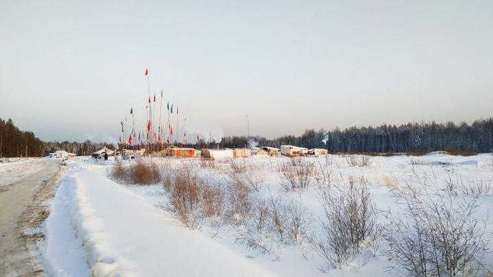 Активистов на Шиесе попросили в течение трех дней перенести палаточный лагерь
