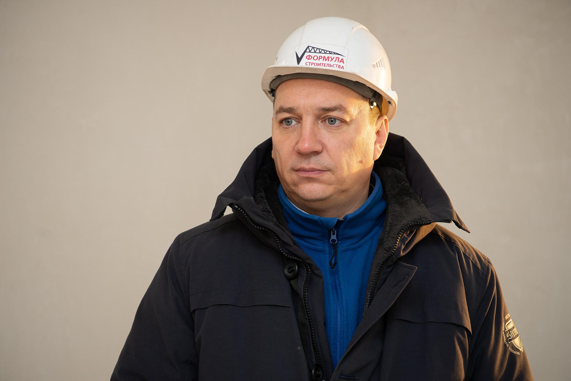 Руководитель отдела продаж СЗ «Формула строительства» Андрей Агеенко
