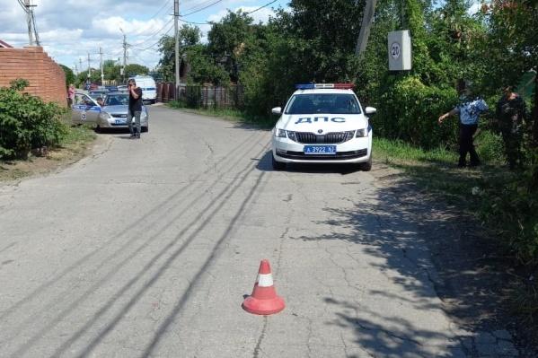 Авария случилась на узком проулке в дачном массиве «Раздолье-2» в Хрящевке