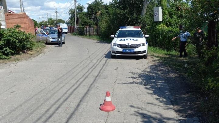 «Лада-Гранта» насмерть сбила женщину на дачах около села Хрящевка