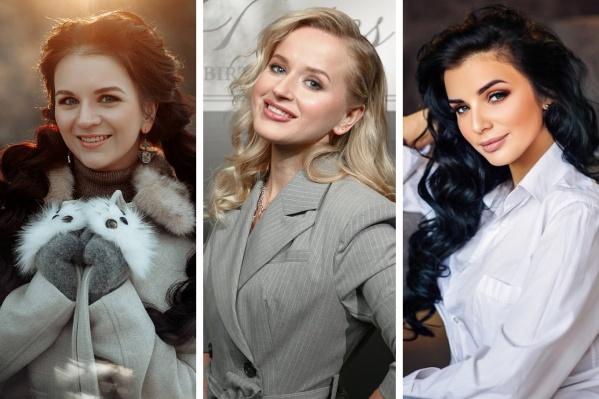 Каждая из девушек борется за титул главной красотки года