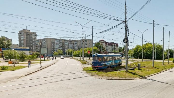 В Екатеринбурге закроют для движения перекресток Татищева и Викулова