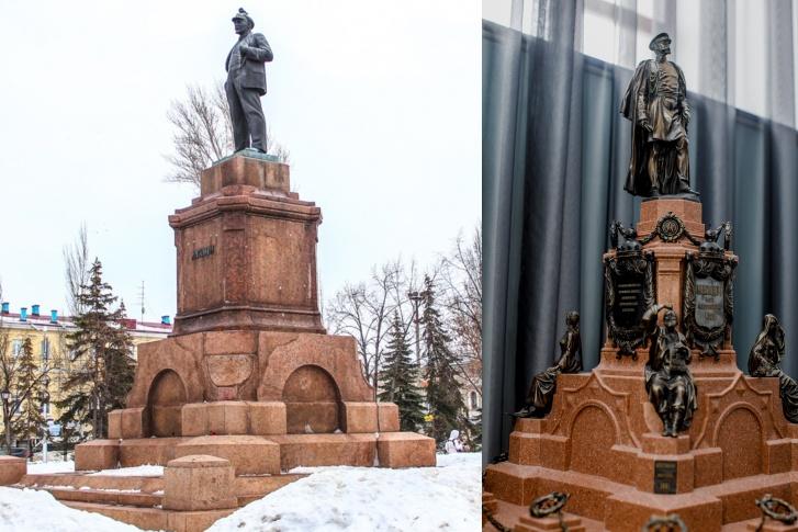 Фигура Александра II в миниатюре уже готова