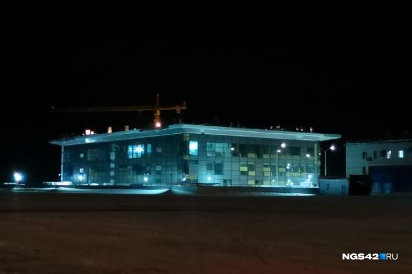 Строительство терминала началось весной 2020 года