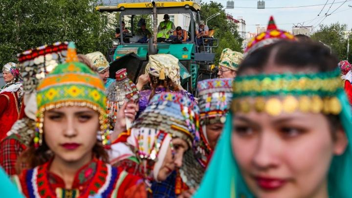 В Уфе стартовала церемония открытия Всемирной Фольклориады