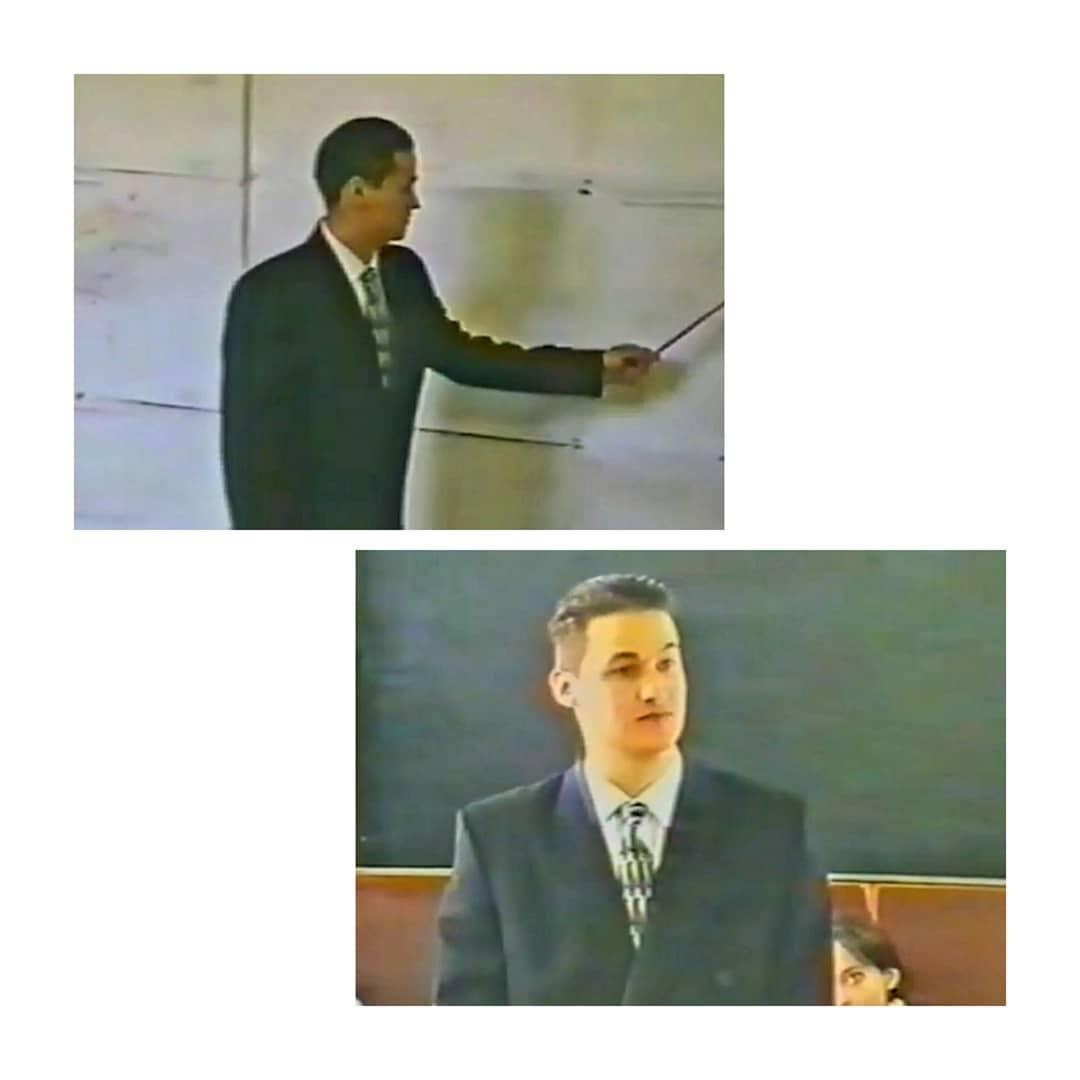 Замгубернатора показал кадры, сделанные 23 года назад