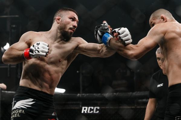 В Екатеринбурге состоялся турнир по MMA