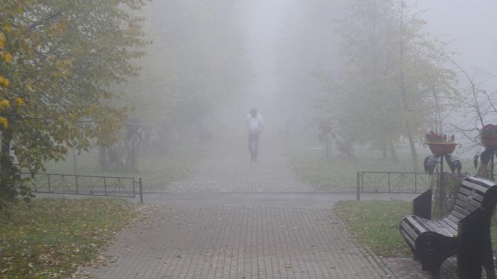 В Югру снова пришел смог