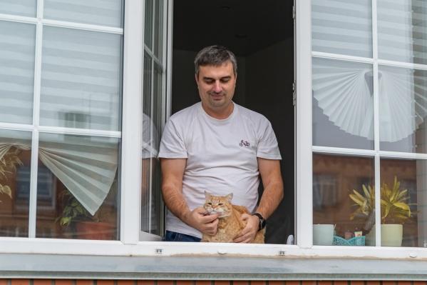 Котики свободно гуляют по поселку, а «потеряшек» помогают найти соседи в общем чате