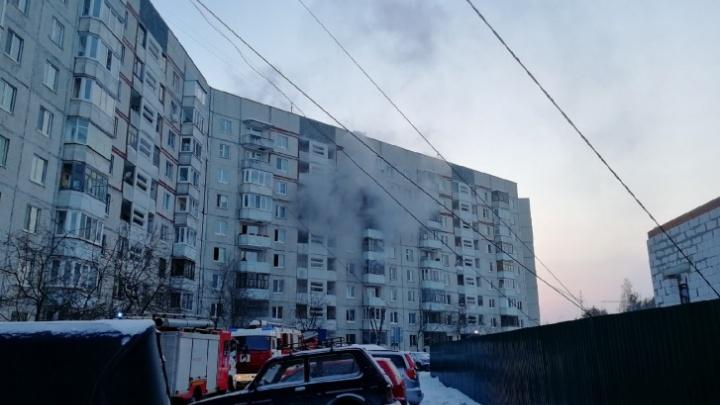 В пожаре на Московском тракте погибла семья. Предварительная версия— неосторожное обращение с огнем