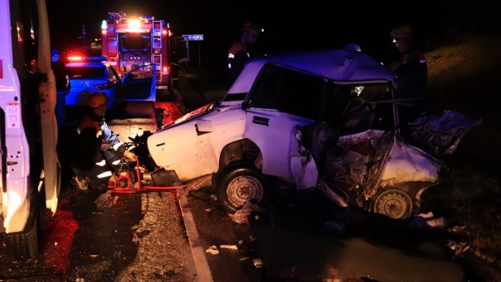Авария с разорванной машиной в Адыгее: погибли двое полицейских и ребенок, число жертв дошло до четырех