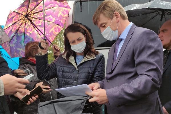 Глава города лично посетила объекты, чтобы проконтролировать ход работ