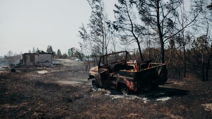 Жители выгоревшего под Тюменью СНТ получат 15 миллионов за уничтоженные дома и дачи