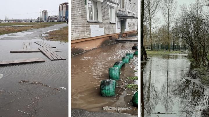 Ярославль ушел под воду: фото и видео с затопленных улиц