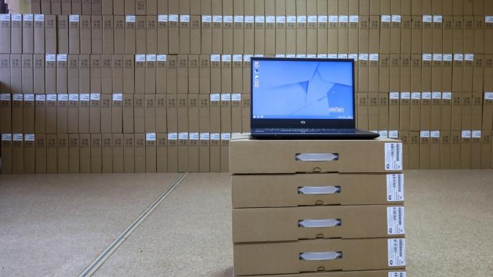 Более семи тысяч малообеспеченных многодетных семей в Красноярском крае получат ноутбуки