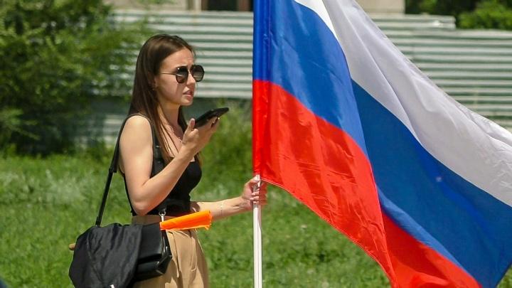 Забег, велогонка и бочче: смотрим, как Волжский отмечает День России