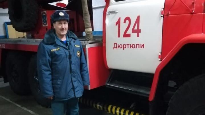 В Башкирии водителю пожарной машины, дом которого сгорел после удара молнии, собрали 250 тысяч рублей