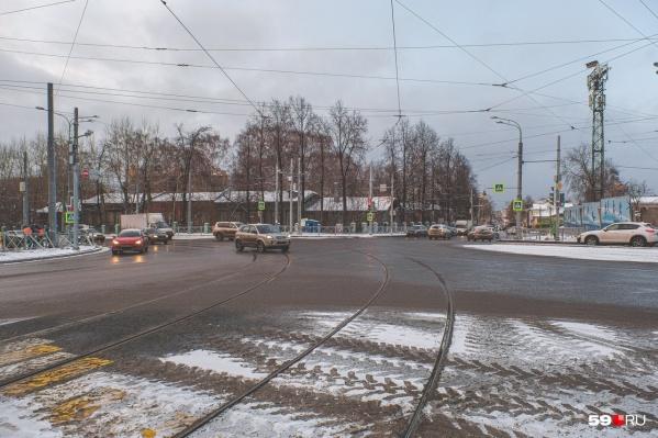 На улице Революции на этой неделе запустят трамваи
