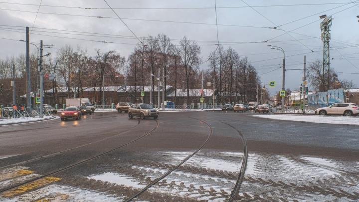 Трамваи по реконструированной части улицы Революции запустят с 16 января