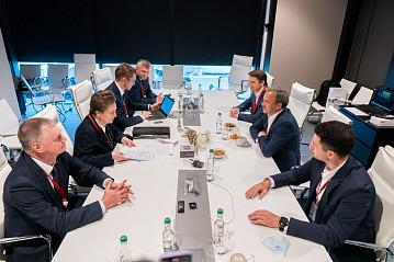В Санкт-Петербурге обсудили строительство научно-технологического центра в Сургуте
