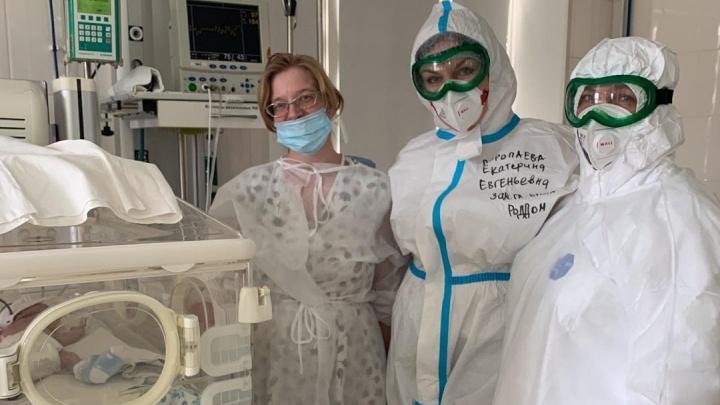 «Мне было ради кого выкарабкиваться»: в Челябинске врачи спасли роженицу с тотальным поражением легких