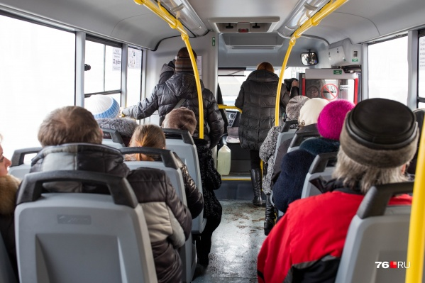 В ярославском транспорте стало больше безбилетников