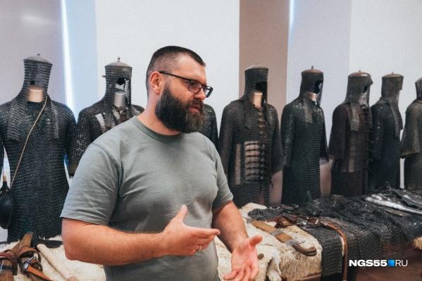 По мнению Василия Минина, омской молодежи нужно больше рассказывать об истории родного края