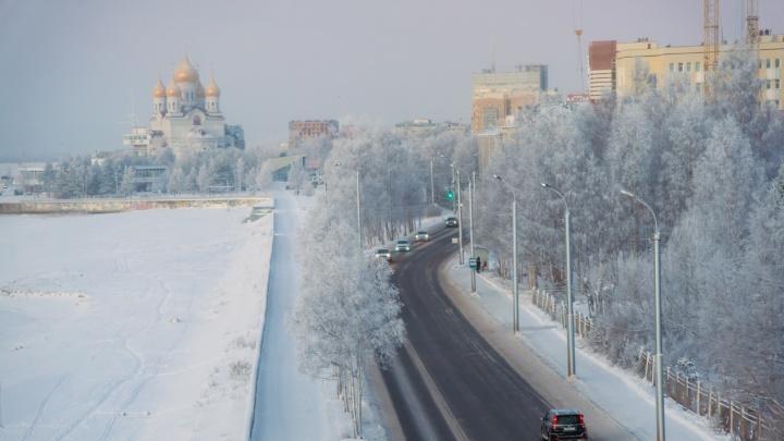 Мороз до -33 градусов: какая погода ожидает Архангельскую область после новогодних праздников