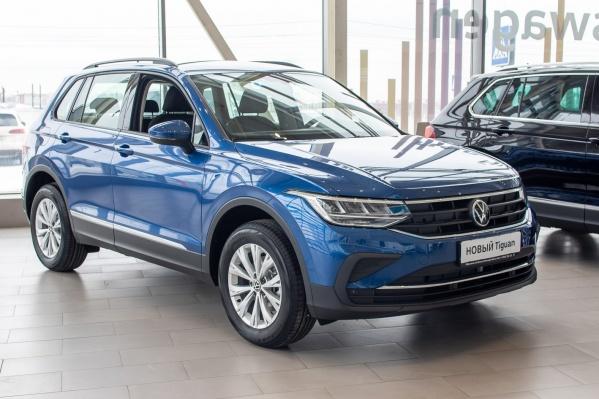 Традиционная солидность Volkswagen прослеживается в каждой детали нового Tiguan