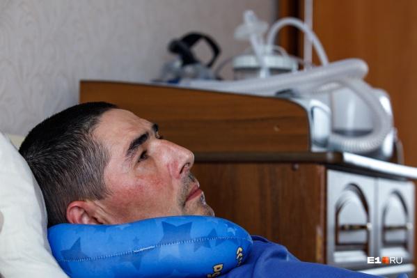 Сергею Тихонову поставили диагноз «боковой амиотрофический склероз» в возрасте 41 года