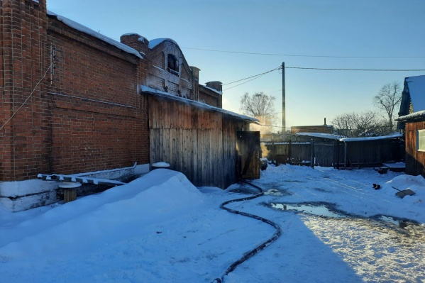 Дом, в котором произошел пожар, был построен в 1911 году