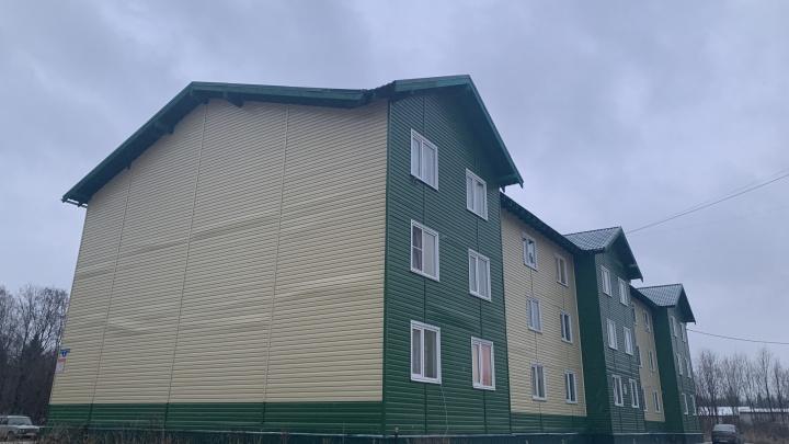 В Вельске расследуют дело о халатности из-за переселения горожан в разваливающийся дом