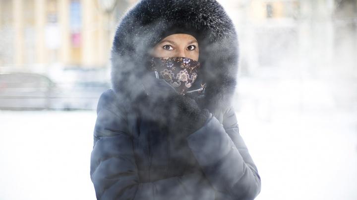 Новосибирск ждет похолодание до -37градусов на этой неделе