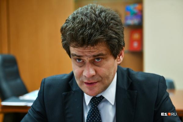 Александр Высокинский впервые после назначения вице-губернатором дал подробное интервью E1.RU