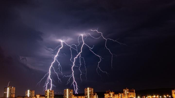 В Свердловской области продлили штормовое предупреждение