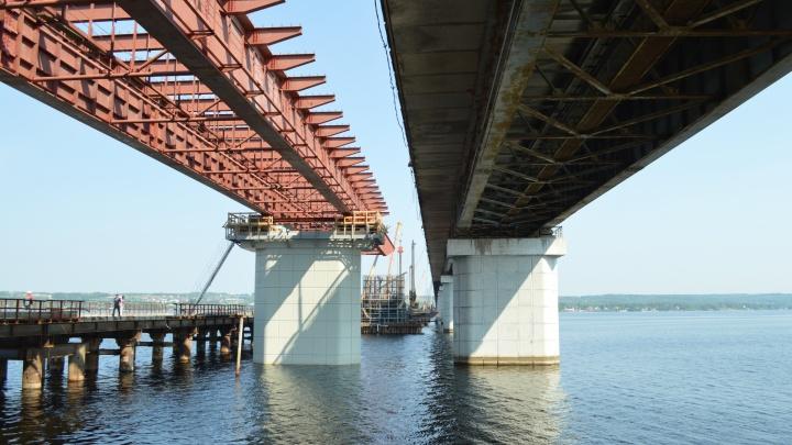 Готовы 3 опоры из 14: фоторепортаж со стройки Чусовского моста