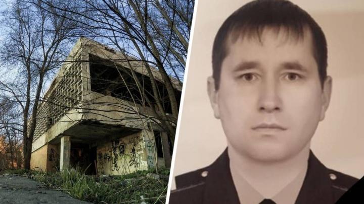В Ростове погиб пожарный, тушивший заброшенный ресторан
