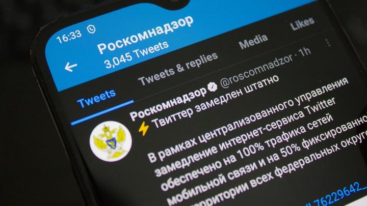 Роскомнадзор передумал блокировать Twitter. Он продолжит его замедлять