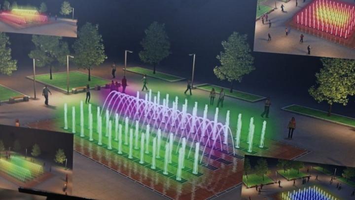 В Ростове определились с формой нового фонтана на Аллее роз