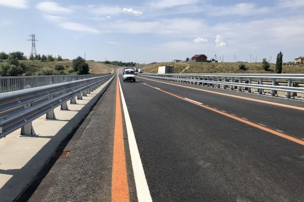 Полностью ремонт моста будет закончен только через год