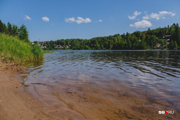 Официально купаться в Пермском крае еще не разрешено