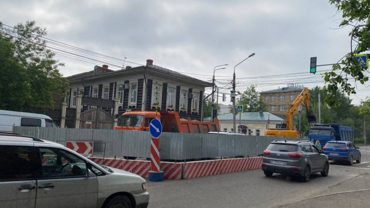 С 18 июня дорожники на 3,5 недели перекрывают движение на Горького