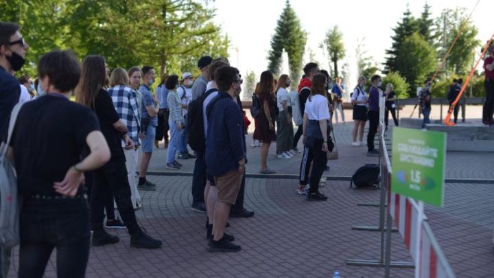 В Архангельске начался музыкальный фестиваль, на который трудно попасть. Фото