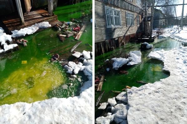 В Архангельске нет озер с кристально чистой водой, но зато есть это — чем не туристический объект?